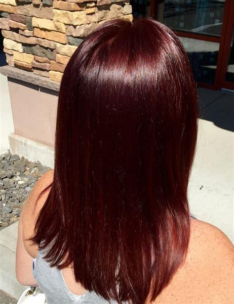 dark mahogany hair ideas  pinterest