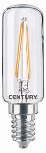 Lampe Ampoule Filament : intb 021427 century ampoule led r tro filament lampe e14 capsule 2 w 240 lm 2700 k ~ Teatrodelosmanantiales.com Idées de Décoration