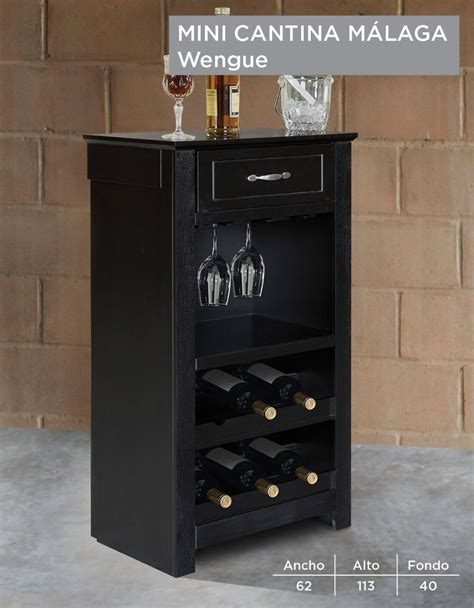 cantina mini vinos copas de madera chica pequena