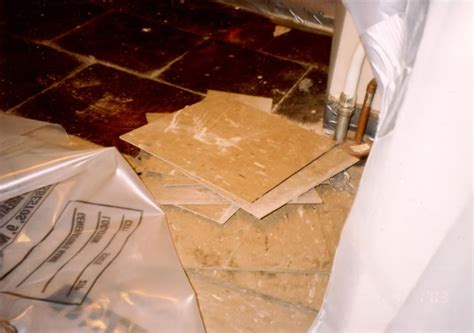 asbestos floor tile removal for informational purposes