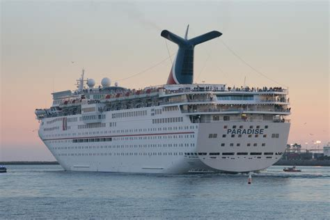 Carnival Paradise Cruise Ship Sinking News by February Cruiseshipportal