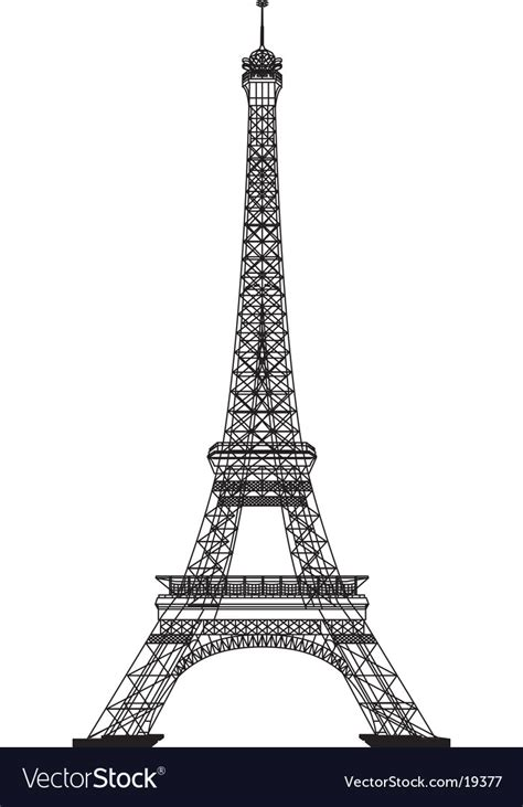19377 templates for a resume eiffel tower royalty free vector image vectorstock