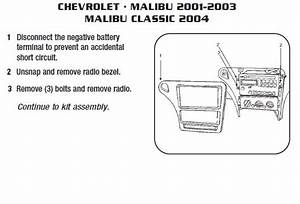 2007 Malibu Radio Wiring Diagram
