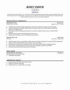 expert preferred resume templates resume genius With reseume template