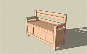 Fabriquer Un Banc D Interieur : fabriquer un banc coffre id es de int rieur ~ Melissatoandfro.com Idées de Décoration
