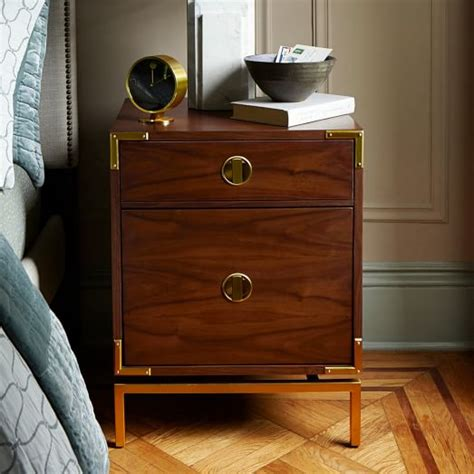Nightstand West Elm by Malone Caign Nightstand Walnut West Elm