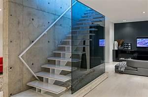 Escalier De Maison Interieur : deco escalier interieur deco maison moderne ~ Zukunftsfamilie.com Idées de Décoration