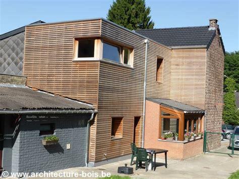 bardage bois chambre annexe en bois une chambre en plus avec façade en