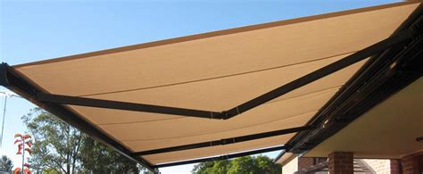 retractable awnings melbourne miles  blinds awnings