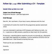 Cover Letter Follow Up Email Sample Sample Follow Up Email After Resume Sales Follow Up Letter Template Letter Templates And Job Application Follow Up 19 Email Letter Templates