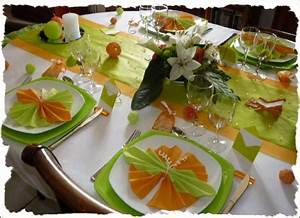 Orange Et Vert Dunkerque : decoration de table orange et vert ~ Dailycaller-alerts.com Idées de Décoration