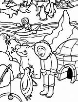 Coloring Eskimo Alaska Activity Pages Drawing Inuits Inuit Clipartmag Popular sketch template