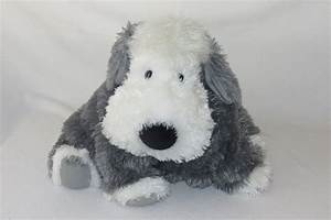 Jellycat Truffles Chaucer Sheep Dog White Gray Plush ...