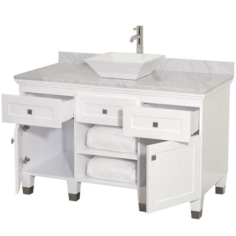 48 white bathroom vanity 48 quot premiere 48 white bathroom vanity bathroom vanities