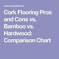 bamboo vs cork flooring pros and cons spa baths tubs and essential oils on