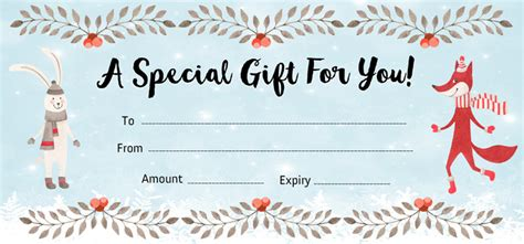 Make Your Own Gift Certificate Template by Free Gift Certificate Creator Jukeboxprint
