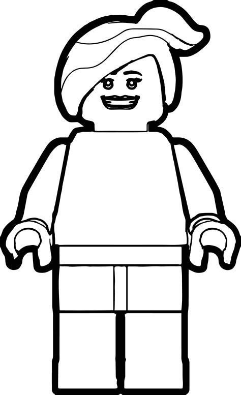 Lego Woman Coloring Page | Wecoloringpage.com
