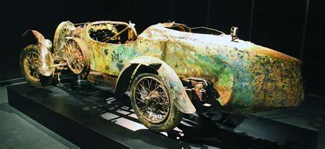 The Preservation Of The Bugatti In The Lake
