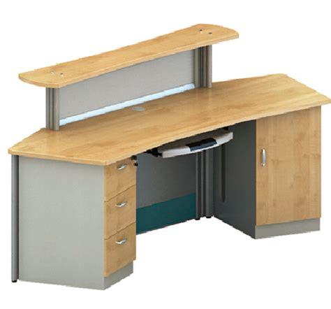 comptoir bureau bureau table de comptoir mélamine stratifié réception