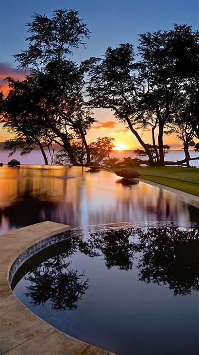 Swimming Usa Iphone Maui Pool Wallpapersafari Hawaii