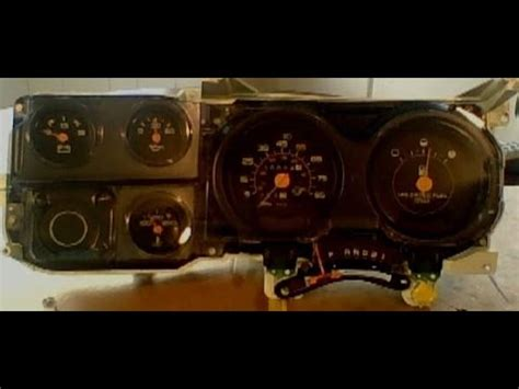 gmc square body instrument cluster repairrestoration