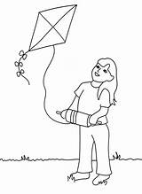 Kite Coloring Flying Drawing Printable Clipart Fly Kites Epiphany Colouring Sheets Drawings Yang Yin Bestcoloringpagesforkids Visit Popular sketch template