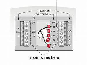 Lennox G26 And Thermostat C Wire Connection - Hvac
