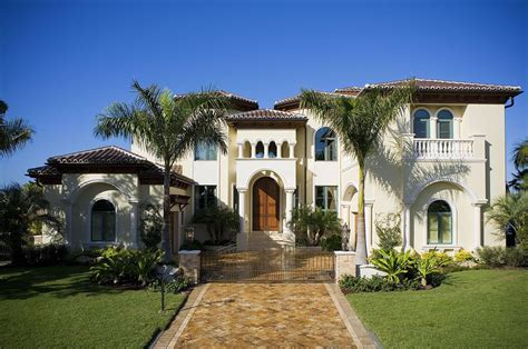 Stucco Houses, House Plans And Mediterranean Houses On