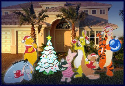christmas yard wood cut outs christmas holiday wooden