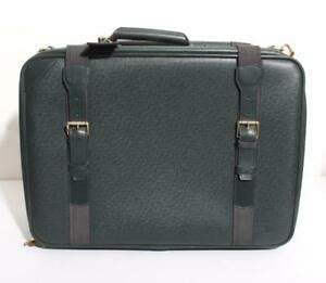louis vuitton taiga forest green satellite luggage bag travel carry  suitcase ebay