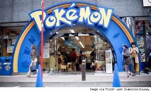 pokemon center is a hot japanese tourist destination