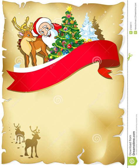 merry christmas frame stock image image 27036111