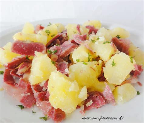 comment cuisiner des gesiers frais salade tiède de pommes de terre gésiers aux fourneaux
