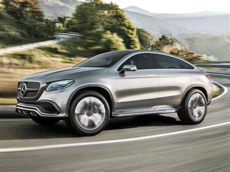 mercedes benz coupe suv concept car  catalog