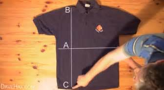 how to fold at shirt how to fold a shirt fast business insider