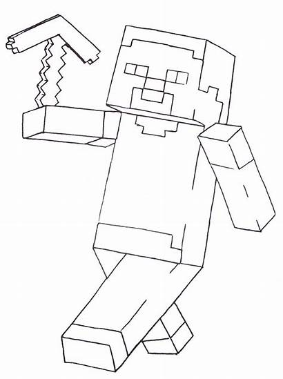 Minecraft Coloring Pages Printable Boys Fun Colouring