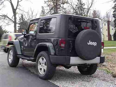 jeep wrangler 2 door soft top find used jeep wrangler sahara 2 door auto hard top