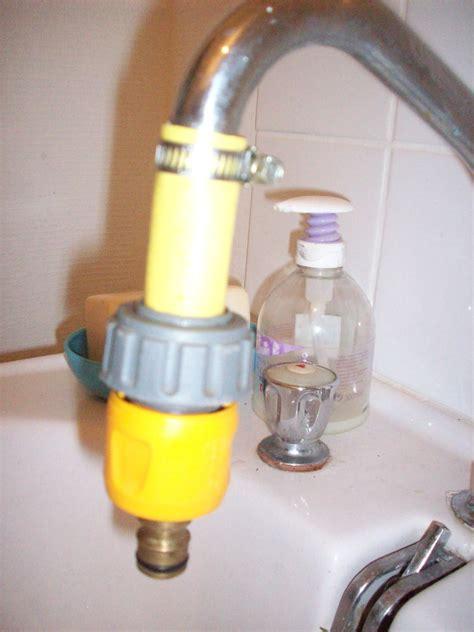adaptateur tuyau d arrosage sur robinet de cuisine adaptateur