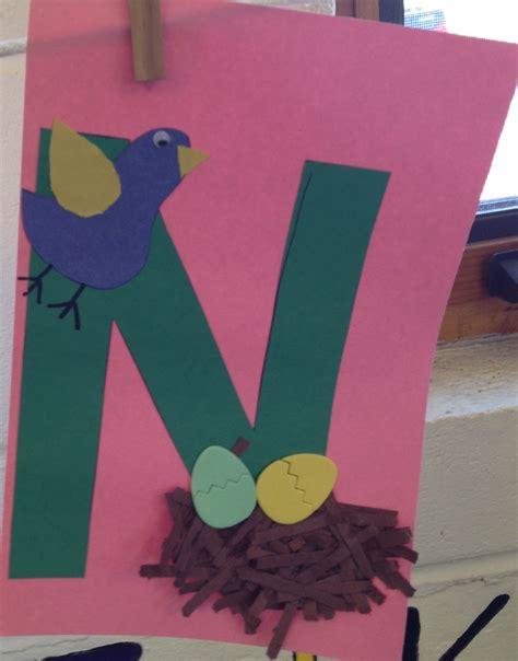 preschool letter n craft preschool letter crafts
