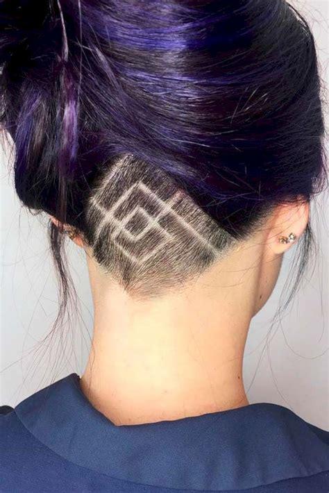 lovely undercut hairstyle  women ideas fashionetter