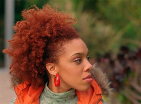 A Guide To Dying Curly Natural Hair Red