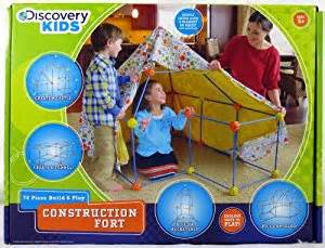 amazon com discovery kids 72pc build play construction