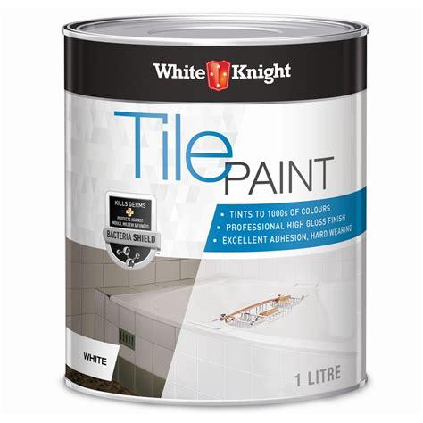 white 1l white tile paint bunnings warehouse