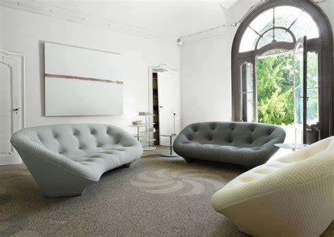 ligne roset canapé ploum sofas designer r e bouroullec ligne roset