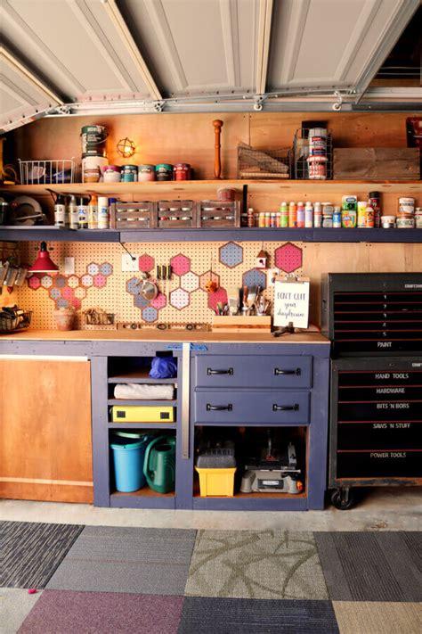 top  diy projects  making  fabulous garage workshop