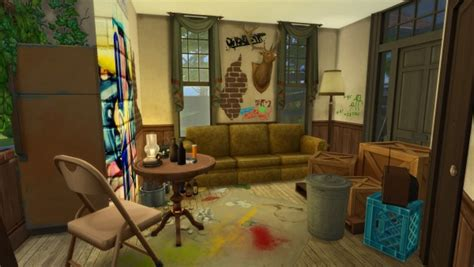 les sims  abandoned house sims  downloads