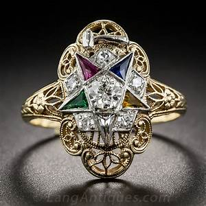 order of the eastern star masonic ring With mason wedding rings