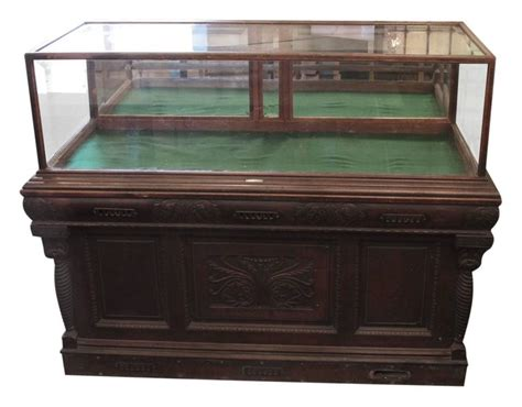antique humidor cabinet for sale 1800s carved oak cigar humidor and mirrored showcase by