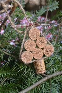 rudolph and christmas tree cork ornaments chickabug