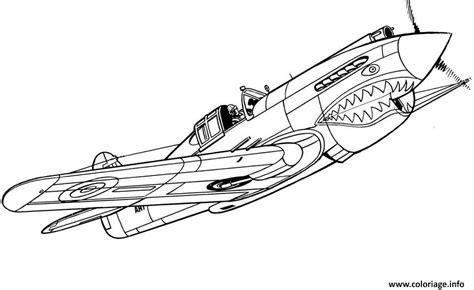 Coloriage Avion De Guerre 10